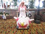 Nurse Joy - Pokemon - Nan Desu Kan 2014 by YandereCosplay