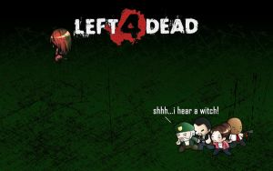 Left 4 Dead - Hear the witch by craziemutant