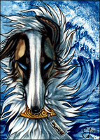 ACEO Beyond the Blue by Endlen