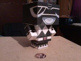 Black Ranger CubeeCraft by SuperVegeta71290