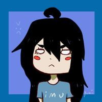 Yumi doddles angry face by YumiiArts