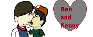 Ben And Kenny - Cute by Ashben11