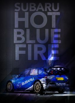 Hot Blue Fire by Xecutioner379
