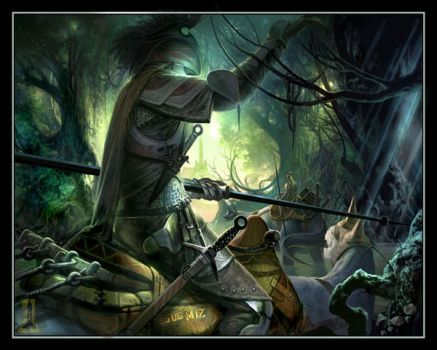 Forest Warrior by Concept-Art-House
