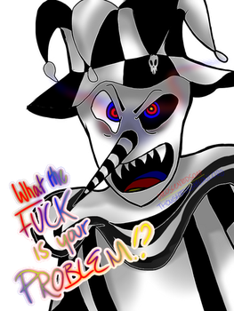 Uncharacteristically Angry Jigsaw by ThoughtfulMelonlord