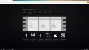 My Bookmarks Panel v.5 by Lusitan