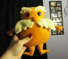 Lorax Plushie - With Pattern by StitchyGirl