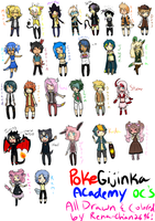 Pga: Chibis by Tess-Is-Epic
