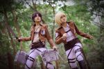 There - Attack on Titan by Theronnx