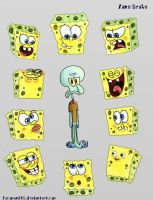 SpongeBobs......SpongeBobs everywhere...... by TacomanZKD