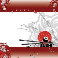 active sushi cover by GrafixRonnin