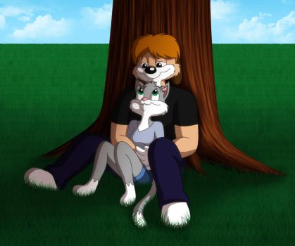 Under a Tree by GuiMontag