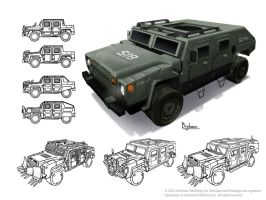 Prototype 2 Jeep by SBigham