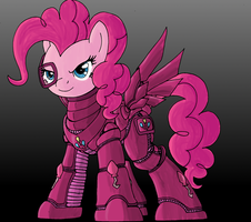 Pinkie Party Armor shaded by decompressor