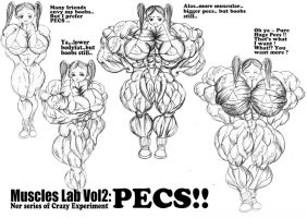 Muscle lab vol2 :Pecs cover by e19700