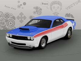 Dodge Challenger by pisula