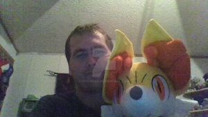 Me and Fennekin by FifiLover