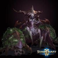 Commander Zagara - StarCraft Legacy of the Void by PlanK-69