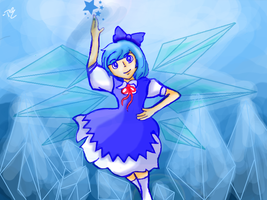 Cirno by YerBlues000