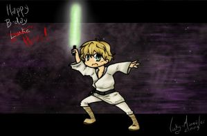 Henry the lil' Jedi by Vicky-Mionelei