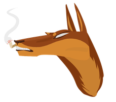 Dober Head by deerynoise