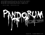 Pandorum: The Lost Tapes Coming Soon! by jackanarchy99