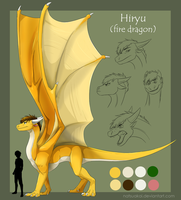 Hiryu dragon ref by Natsuakai