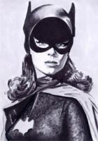 Batgirl - Yvonne Craig by veripwolf