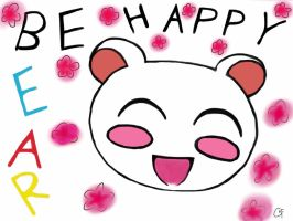 Be Happy Bear by Crazy-Sweet-Fan