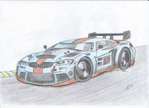 GT Race Car by Roadkingin66