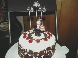 Black Forest and Cake Topper by kayanah