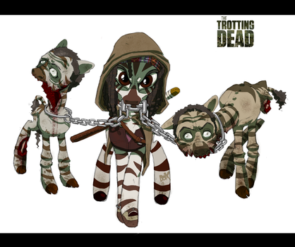 Trotting Dead - Michonne by PumpkinHipHop