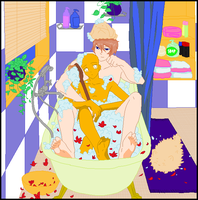 Greyson x Cassiday Collab - Bathtime by fushigi-no-kuni-oujo