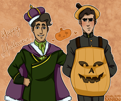 [LOK] - Happy Halloween! by dankouu