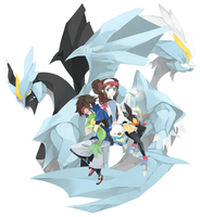 Pokemon BW2 by Tapichu