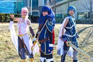 Katsucon 2015 - Fiery Family(PS) 06 by VideoGameStupid