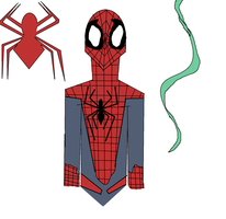 Spidey doodles by TheUltimateSpiderFan