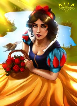 Snow White by Arkenstellar