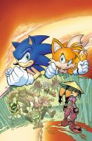 Sonic Universe 15 cover by Yardley