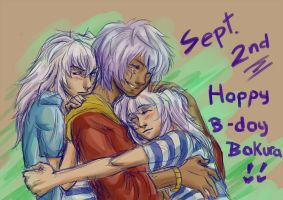 Happy Birthday Bakura by thooruchan