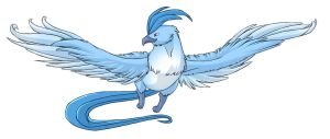 ...pogheys... Articuno by Rainbow-Cemetery