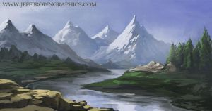 Mountain Range by jbrown67