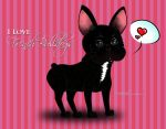 I Love French Bulldogs 2 by Mareishon