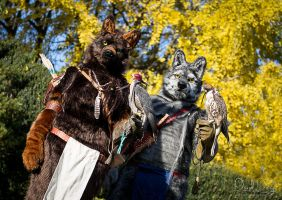 Falconers by WMW66-costumes