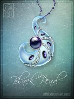 Amulet - Black Pearl by Rittik