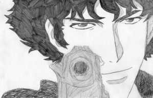 Spike Spiegel by avastime