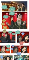 Asami Loves Korra: Battle Couple, part 1 by JakeRichmond