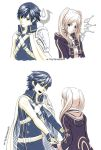 Chrom and Robin doodles by Eeveetachi