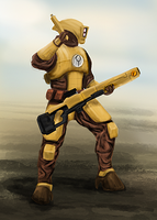 Tau Fire Warrior (May 13) by PlainBen