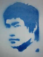 Bruce Lee by moothemoo